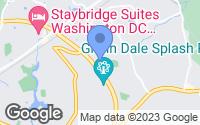 Map of Glenn Dale, MD