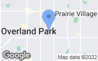 Map of Prairie Village, KS