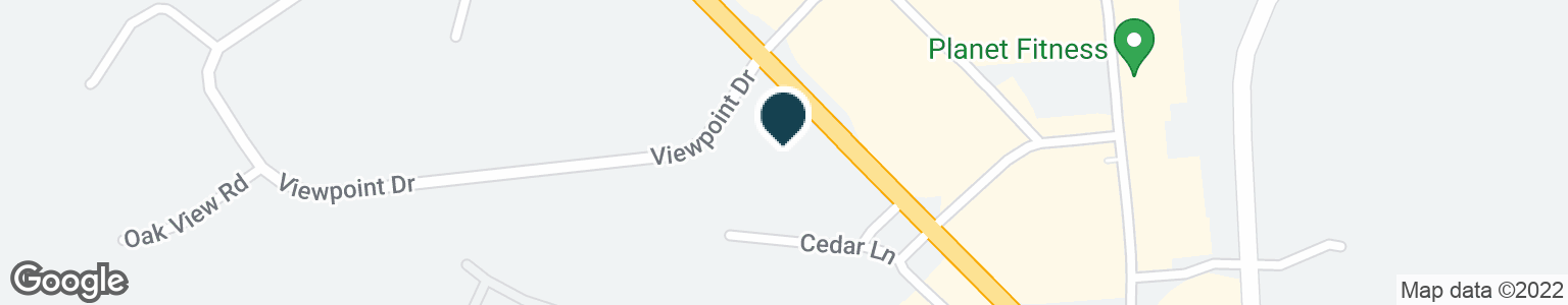 Google Map of1 VIEWPOINT DR