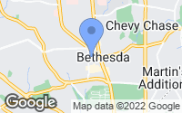 Map of Bethesda, MD
