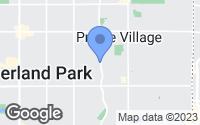 Map of Prairie Village, KS