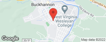 Map of 106 S Kanawha St in Buckhannon