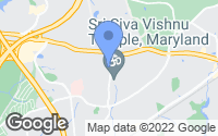Map of Goddard, MD