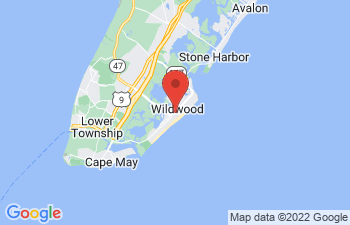Map of Wildwood
