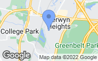 Map of Berwyn Heights, MD