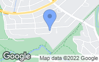 Map of Chevy Chase, MD