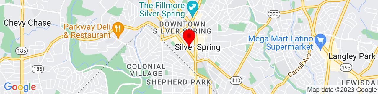 Google Map of 38.9906237, -77.0285952