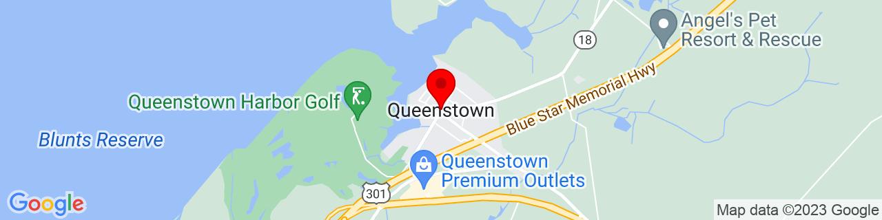 Google Map of 38.99066790000001, -76.15772679999999