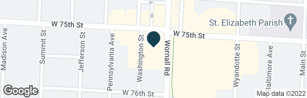 Google Map of7500 WORNALL RD