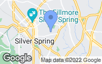 Map of Silver Spring, MD