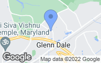 Map of Glenn Dale, MD