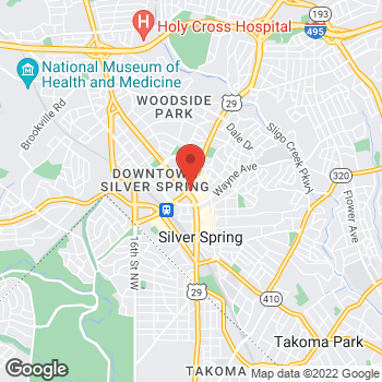 Map of Panera Bread at 8541 Georgia Avenue, Silver Spring, MD 20910