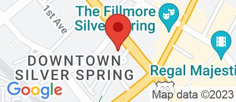 Branch Location Map - Capital One Bank, 8676 Georgia Avenue Branch, 8670 Georgia Avenue, Silver Spring MD