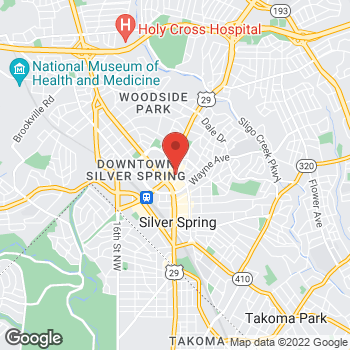 Map of Hair Cuttery at 8661 Colesville Rd Ste C139, Silver Spring, MD 20910