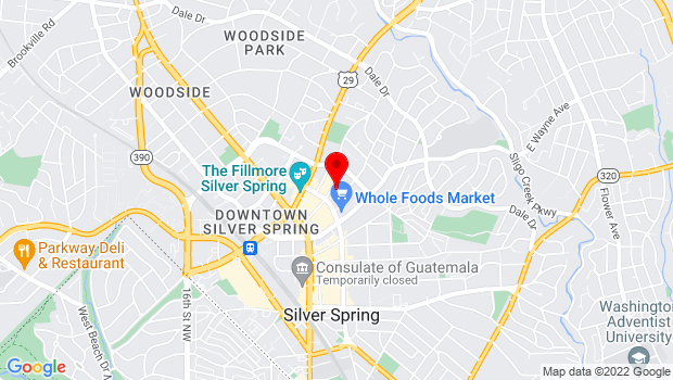 Google Map of 1 Veterans Plaza, Silver Spring, MD 20910