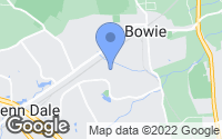 Map of Bowie, MD
