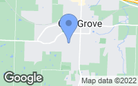 Map of Oak Grove, MO