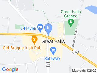 Map of Alternative Pet Care Dog Boarding options in Great Falls | Boarding