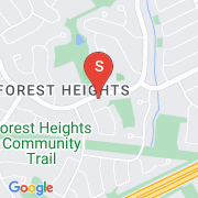 Road Map of 380 Westheights Drive, Kitchener, Ontario
