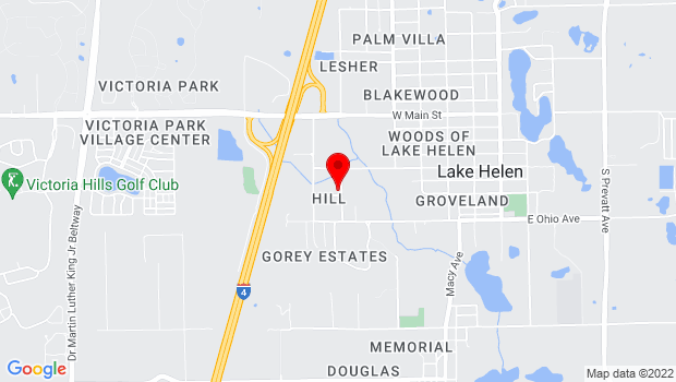 Google Map of 380 South Goodwin Street, Lake Helen, FL 32744