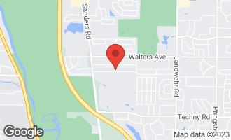 Map of 3802 Oak Avenue NORTHBROOK, IL 60062