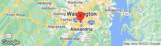 Map of 3803 EDISON STREET ALEXANDRIA, VA 22305