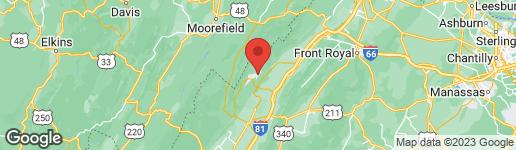 Map of 381 BASS WOOD MOUNT JACKSON, VA 22842