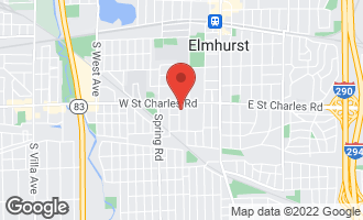 Map of 381 South Mitchell Avenue ELMHURST, IL 60126