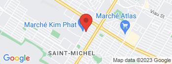 Google Map of 3812+Jarry+Est%2CMontreal%2CQuebec+H1Z+2G8