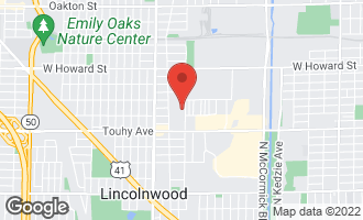 Map of 3813 West Sherwin Avenue LINCOLNWOOD, IL 60712