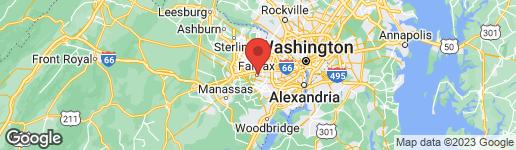 Map of 3815 DANIELS RUN COURT FAIRFAX, VA 22030