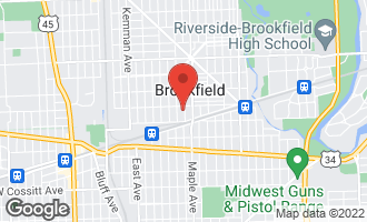 Map of 3816 Arthur Avenue BROOKFIELD, IL 60513