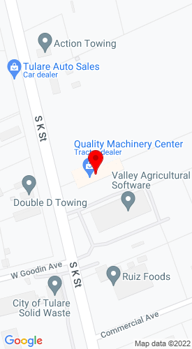Google Map of QMC JCB 3820 S K Street+Tulare+CA+93274