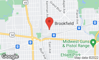 Map of 3822 Blanchan Avenue BROOKFIELD, IL 60513