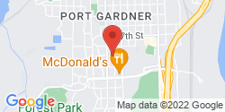 Google Map of 3830 Hoyt Avenue+Everett+WA+98201