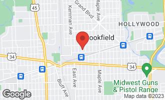 Map of 3831 Morton Avenue BROOKFIELD, IL 60513