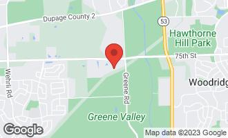 Map of 3837 Gladstone Drive NAPERVILLE, IL 60565