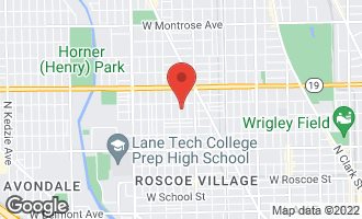 Map of 3837 North Hoyne Avenue CHICAGO, IL 60618