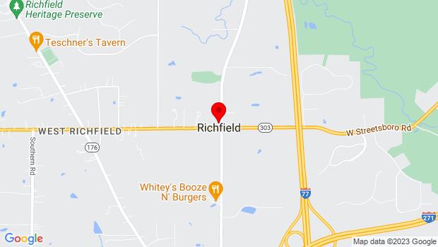 Google Map of 3838 Brecksville Rd., Richfield, OH 44286