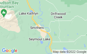 Map of Smithers Riverside Municipal Campground & RV Park