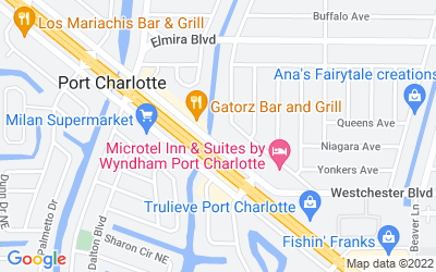 Map of 3846 Tamiami Trail, Port Charlotte, FL, USA