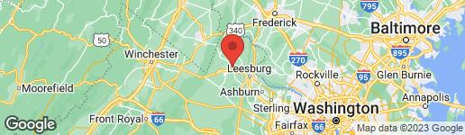 Map of 38535 PURPLE MARTIN LANE HAMILTON, VA 20158