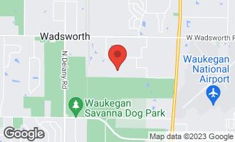 Map of 38585 North Magnolia Avenue WADSWORTH, IL 60083