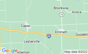 Map of Emmett KOA