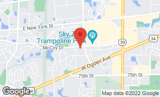 Map of 3873 Mccoy Drive AURORA, IL 60504