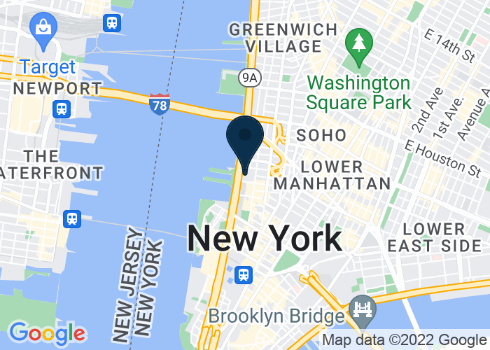 Map of 388 Greenwich Street (Map), New York, NY 10013, United States