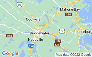 Map of Oakhill Pines Camp & Trailer Park Ltd