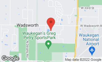 Map of 38854 North Pine Grove Avenue WADSWORTH, IL 60083