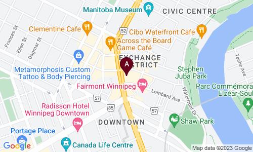 map of Millennium Centre