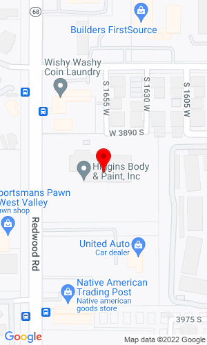 Google Map of Mountain Truck Sales, Inc. 3899 S Redwood Rd, West Valley City, UT, 84119